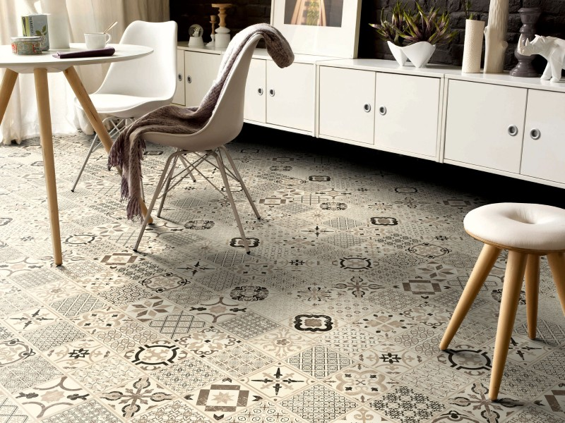 Tarkett vinil Starfloor Click 30 Retro Black White2