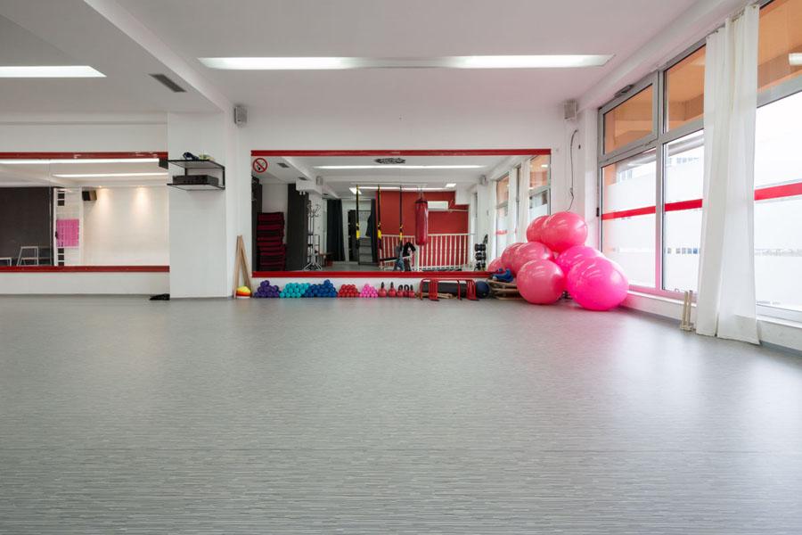 Supreme Fitnes Studio -Tarkett podovi - referenca - vinil za profesionalnu upotrebu
