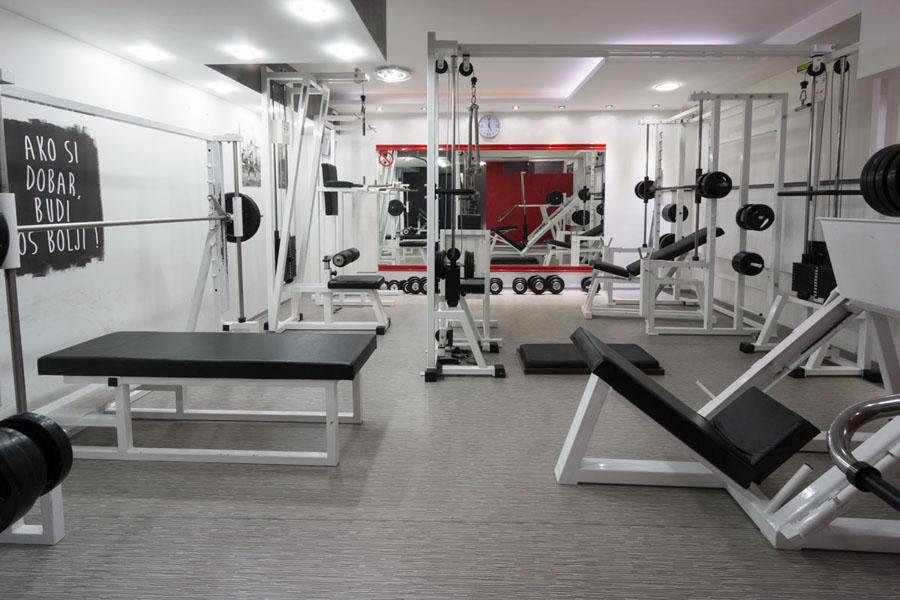Supreme Fitnes Studio - vinil za profesionalnu upotrebu - Tarkett