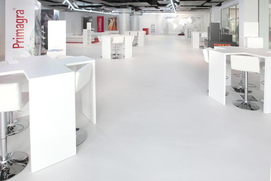 3 Tarkett LVT luxury vinyl tiles Primagra Center Suceava Romania