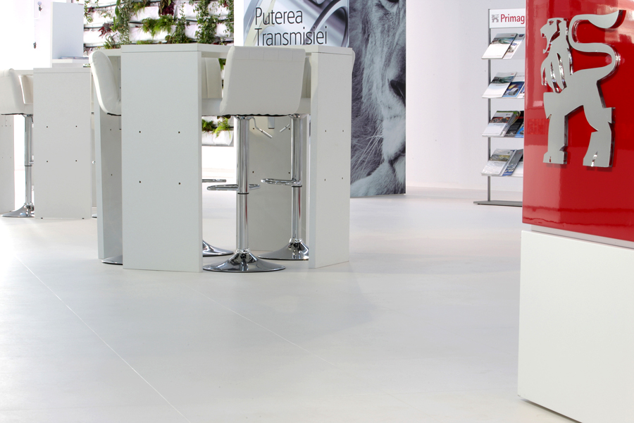 4 Tarkett LVT luxury vinyl tiles Primagra Center