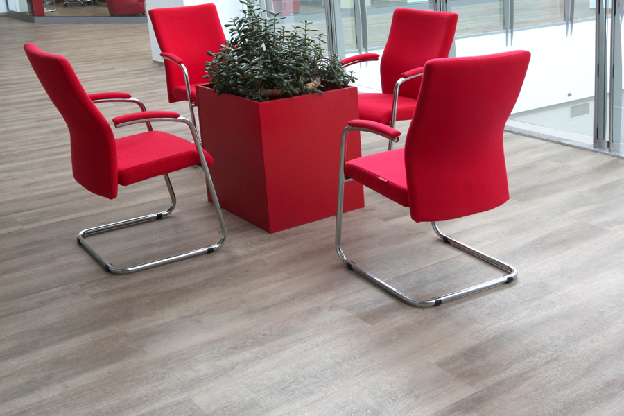 5 Tarkett LVT commercial flooring luxury vinyl tiles Primagra Center Suceava Romania