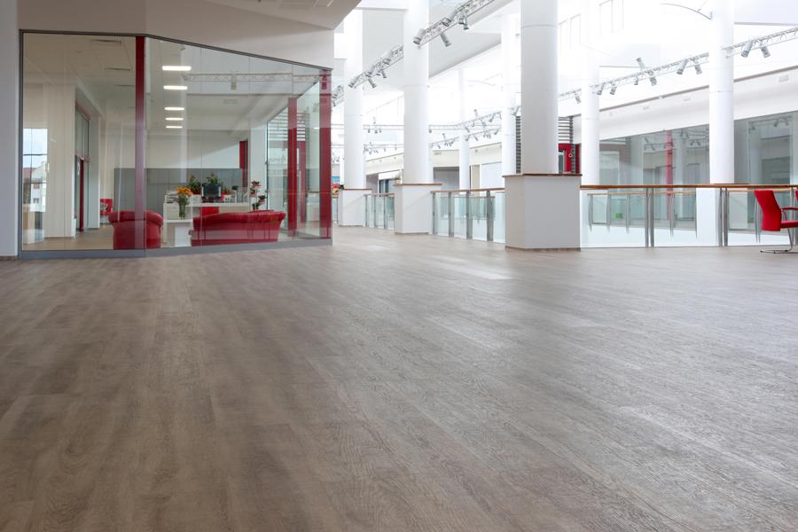 6 Tarkett LVT commercial flooring luxury vinyl tiles Primagra Center