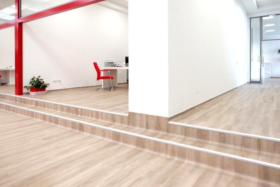 7 Tarkett LVT commercial flooring Primagra Center