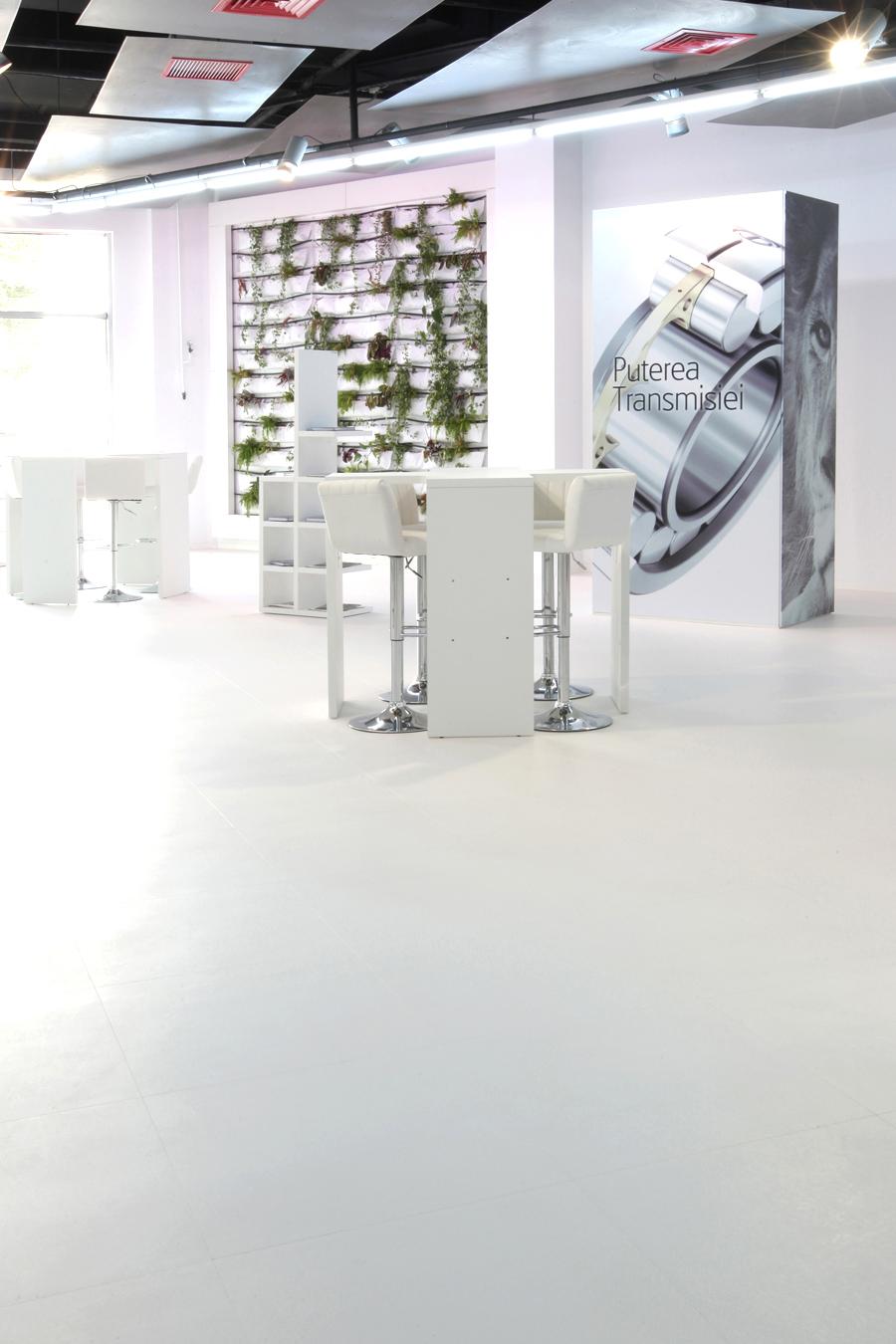 8 Tarkett LVT commercial luxury vinyl tiles Primagra Center