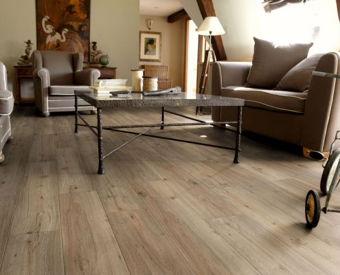 Tarkett vinil Starfloor click 50 Light Grey Soft Oak