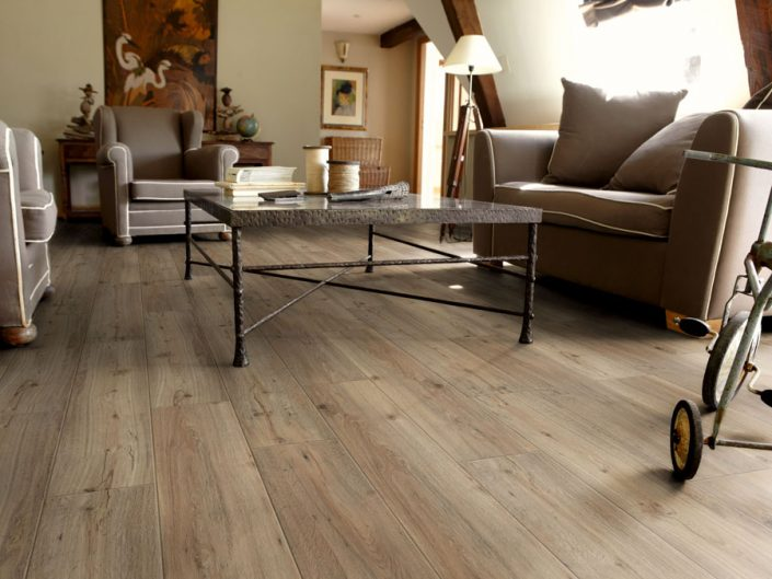 Tarkett vinil - Starfloor click 50 - Light Grey Soft Oak