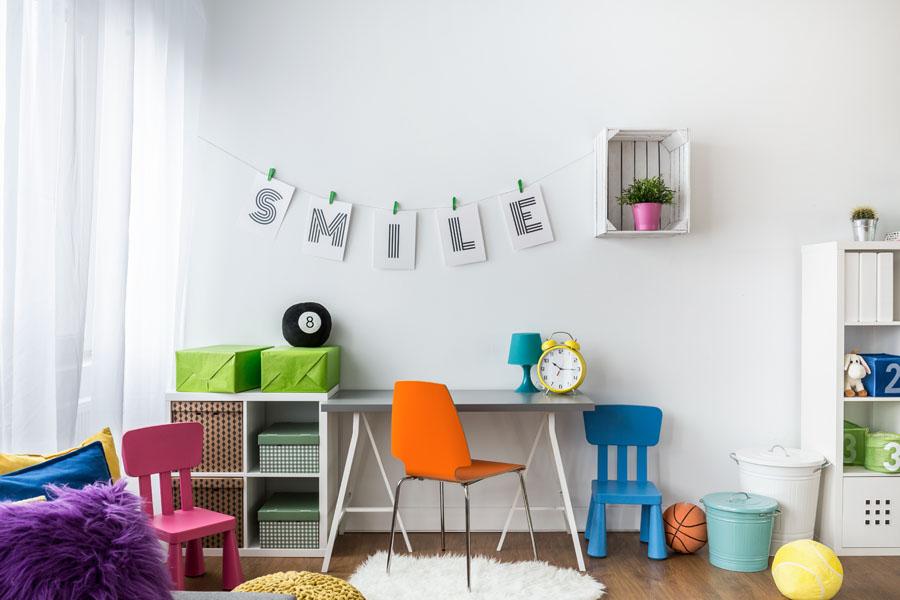 Organizacija prostora decije sobe