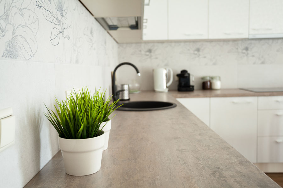 Tarkett cvetni dezeni u uredjenju kuhinje