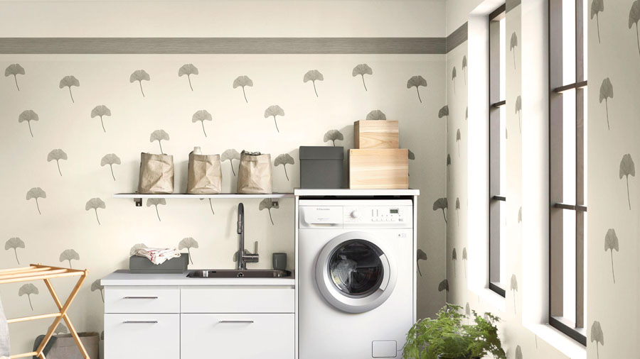 Tarkett zidna obloga za kupatilo Aquarelle Decor Line Black