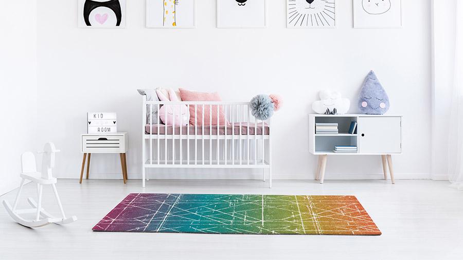 Tarkett tapisi u sobi za bebe - kolekcija Play