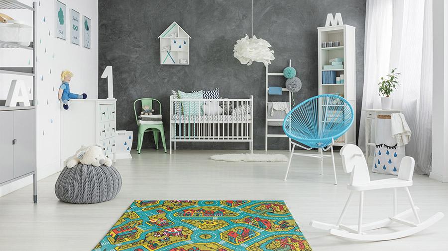 tepih u sobi za bebe - kolekcija Play - Tarkett