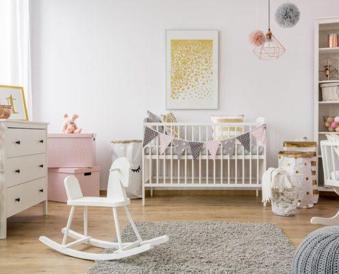 uredjenje sobe za bebu