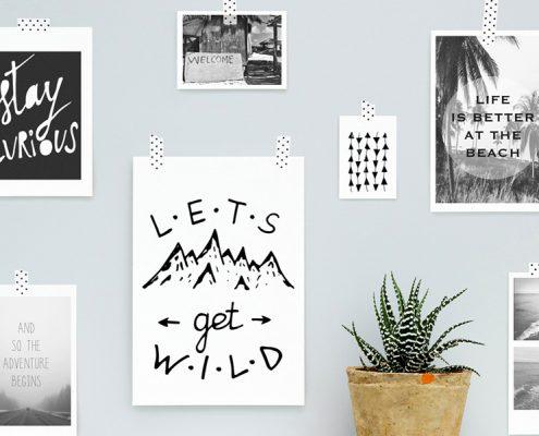 Posteri i slike na zidu